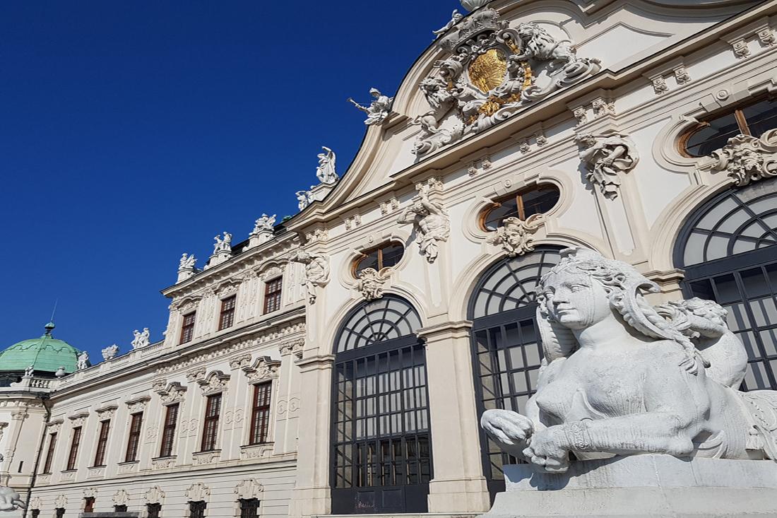 Skulptur Wien Unteres Belvedere